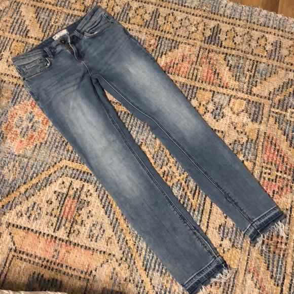 Free People Denim - Free People Straight Leg Crop Jean